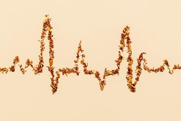 Formes de fréquence cardiaque des cigarettes