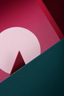 Formes géométriques de conception créative