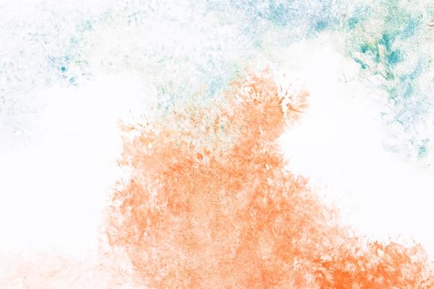 Formes de peinture aquarelle