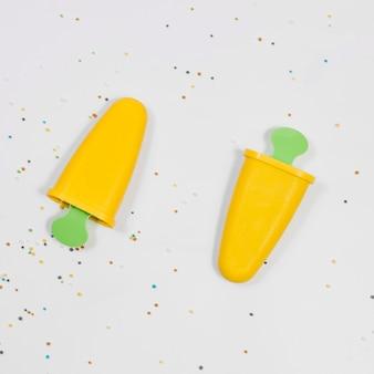 Formes plastiques pour la crème glacée