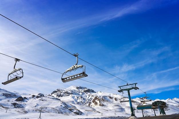 Formigal, domaine skiable, huesca, pyrénées, espagne