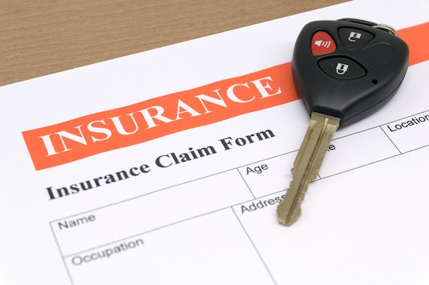 Formulaire d'assurance automobile