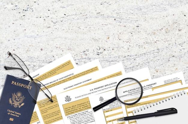 Formulaire ds11 du département d'état - demande de passeport américain