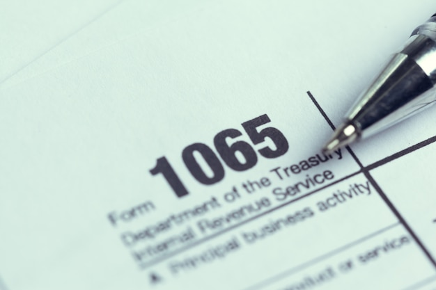 Formulaire d'impôt pour les finances
