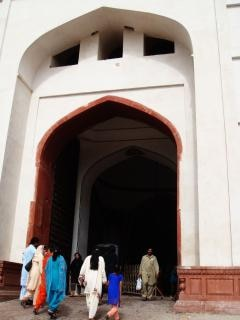 Fort de lahore shahi, le pakistan