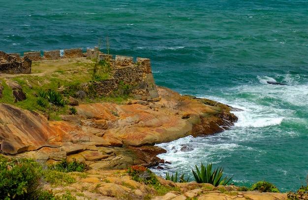 Forteresse castelo do mar à cabo de santo agostinho près de recife pernambuco brésil le 9 septembre 2005