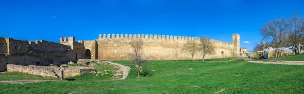 Forteresse de la citadelle d'akkerman en ukraine
