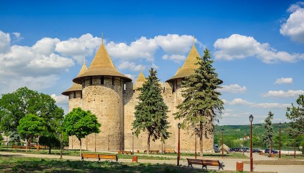 Forteresse médiévale de soroca, république de moldavie
