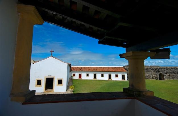 Forteresse de santa catarina à cabedelo près de joao pessoa paraiba brésil le 11 mai 2005