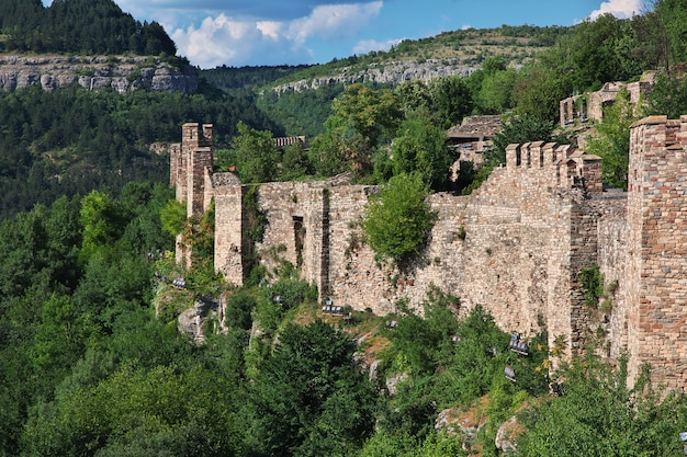 La forteresse de veliko tarnovo, bulgarie