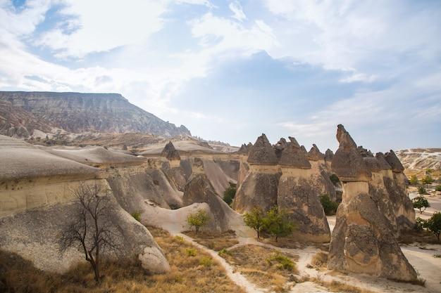Foto parc national de cappadocia valley view
