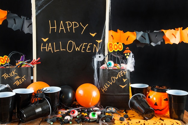 Fournitures de fête de halloween