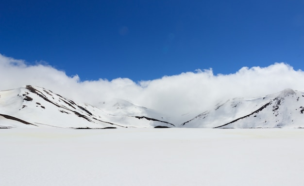 Fox glacier en hiver, nouvelle-zélande.