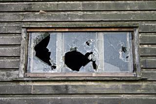 Fracassé la fenêtre