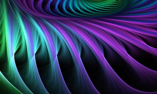 Fractale abstraite. fond d'art fractal pour la conception créative.