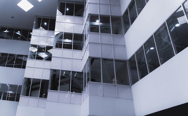 Fragment abstrait de l'architecture moderne