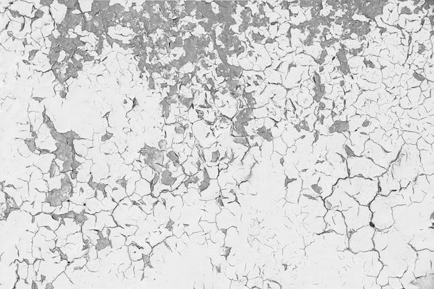 Fragment de mur plâtre patiné fissuré