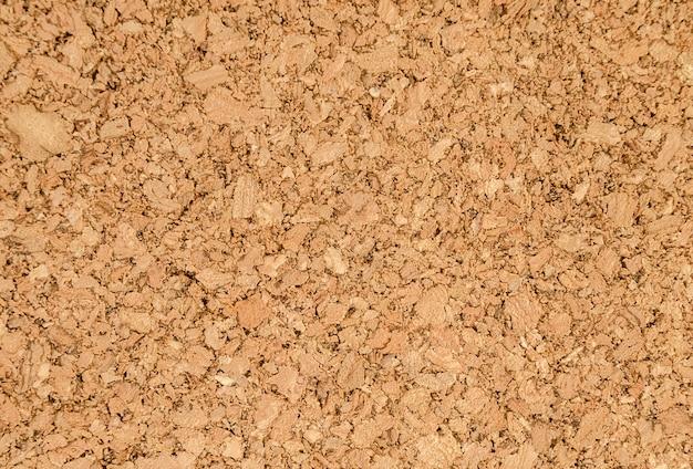 Fragment d'une texture de liège marron.