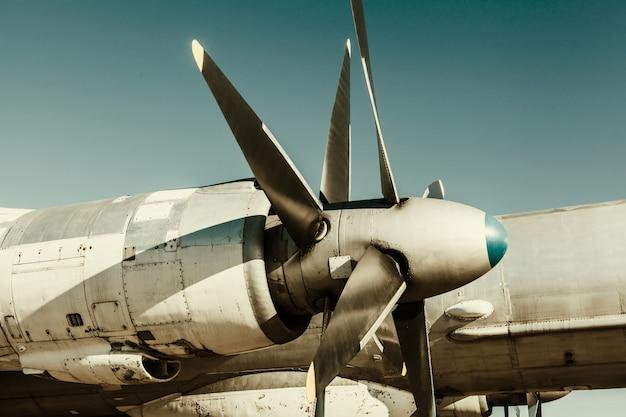 Fragment de vieil avion