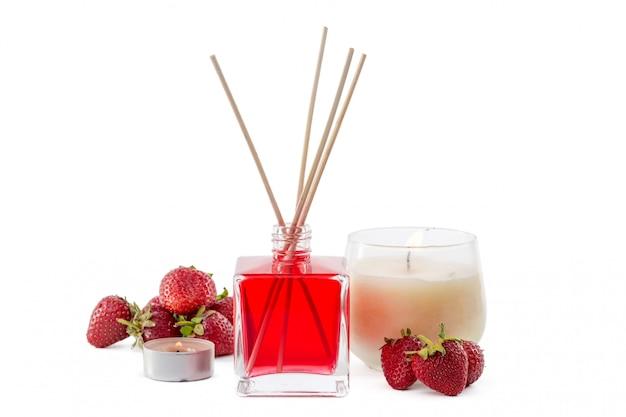 Fragrance diffuser set de bouteille avec bâtonnets aromatiques (diffuseurs à roseaux)