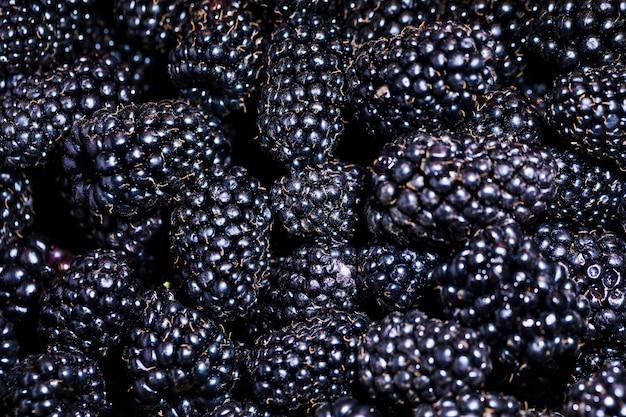 Framboise biologique et nutritive sur le marché