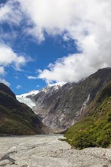Franz joseph glacier track ile sud nouvelle zelande