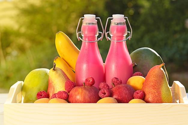 Un frappé aux fruits