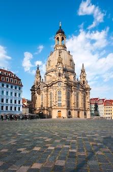 Frauenkirche à dresde, allemagne