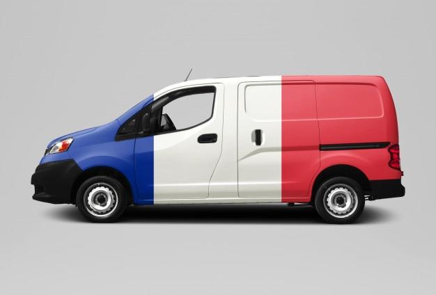 French van - livraison et messagerie