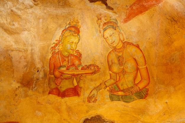 Fresques de sigiriya