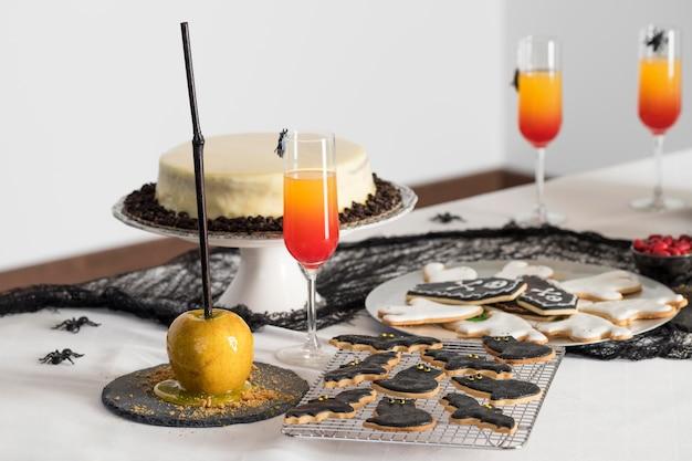Friandises spécifiques à halloween pour la fête