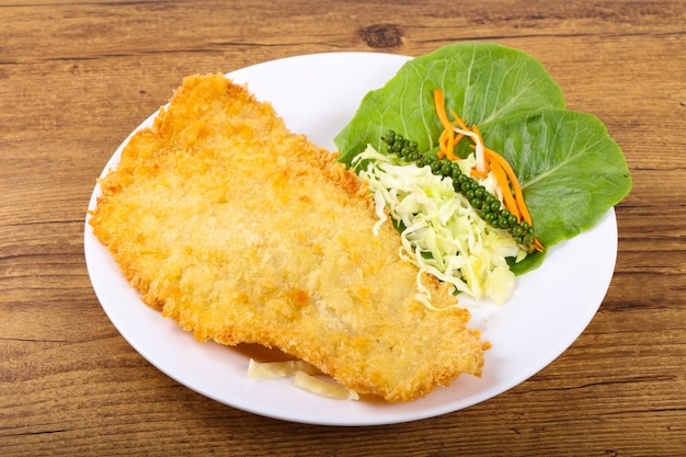 Fried dory fish