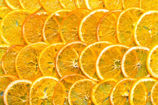 Frites d'oranges séchées