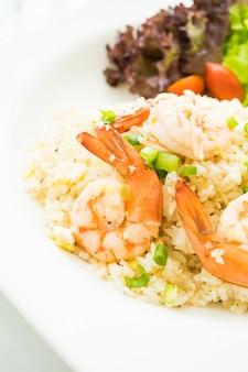 Frites de riz aux crevettes