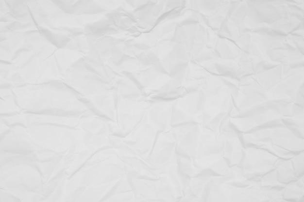 Froissé de papier blanc