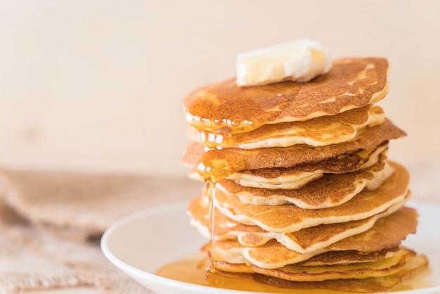 Fromage au pancake au miel
