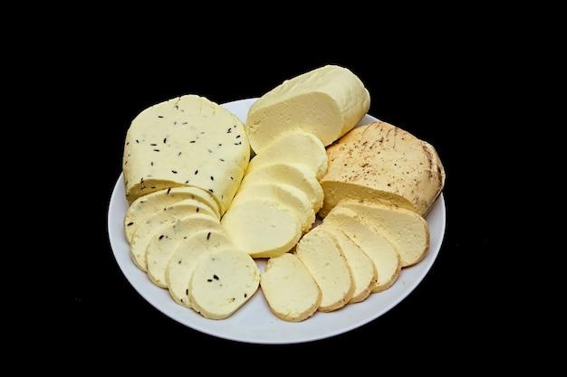 Fromage cottage blanc assiette calcium bio protéines fraîches