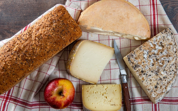 Fromages et snacks