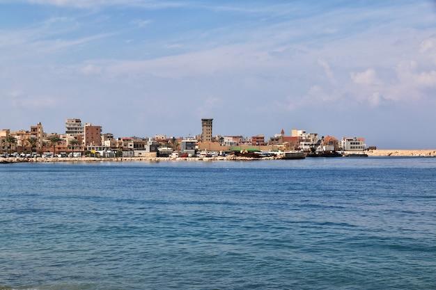 Le front de mer de tyr, au liban
