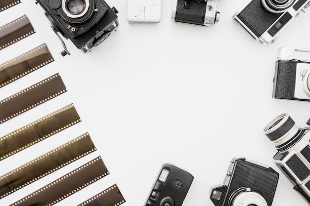 Frontière du film et des caméras
