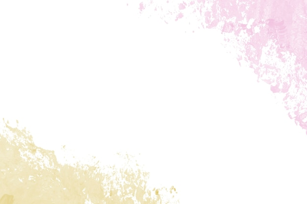 Frottis de peinture rose et jaune
