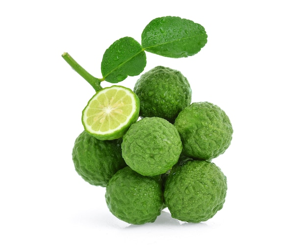 Fruit de bergamote isolé