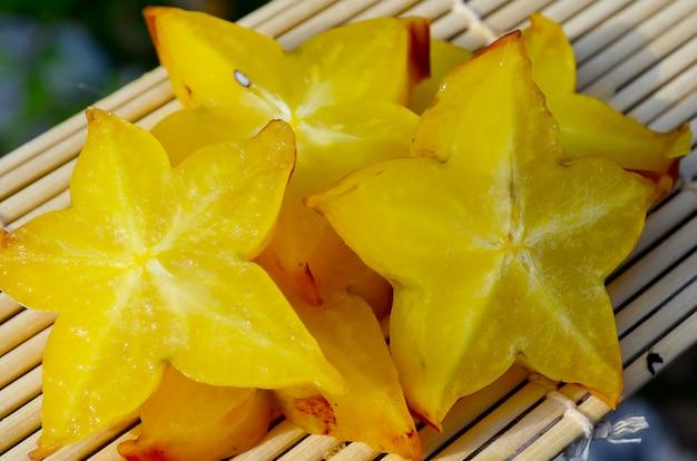Fruit étoilé - carambole