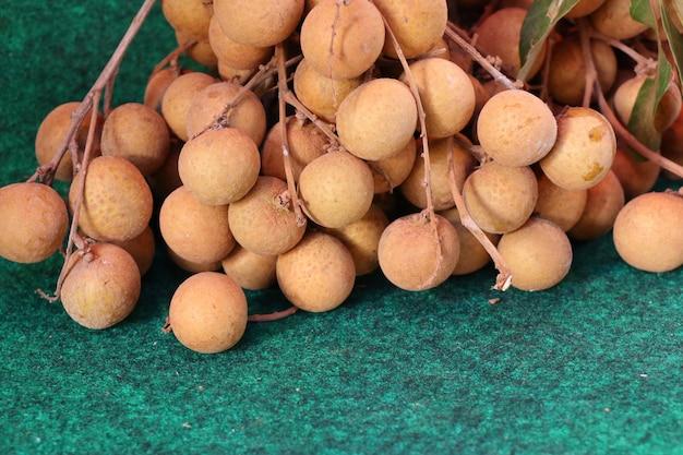 Fruit longane au street food