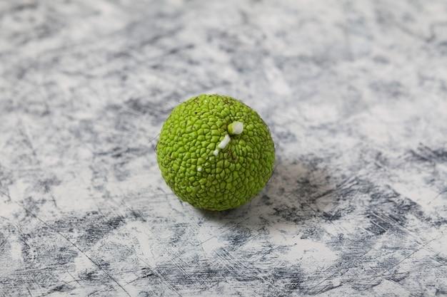 Fruit maclura pomifera fruit maclura ou pomme adams utilisé en médecine alternative