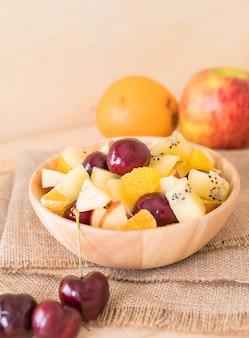Fruit mélangé mélangé