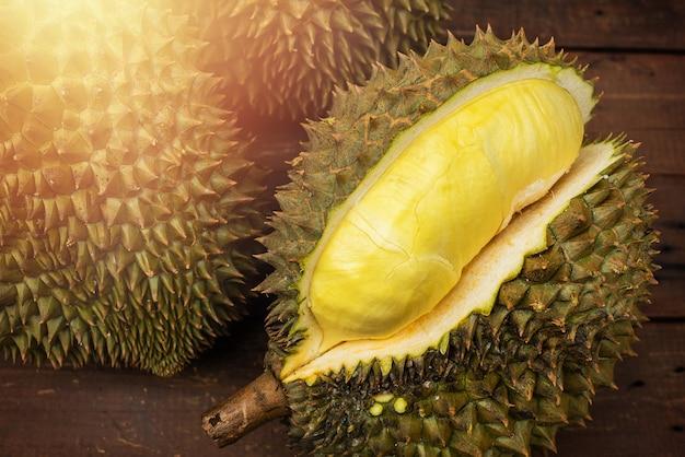 Fruit de mon thong durian de thaïlande