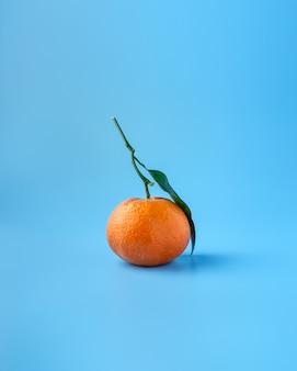 Fruit orange ou mandarine mûr
