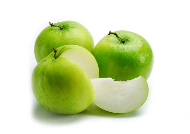 Fruits au lait jujub avec gros fruits