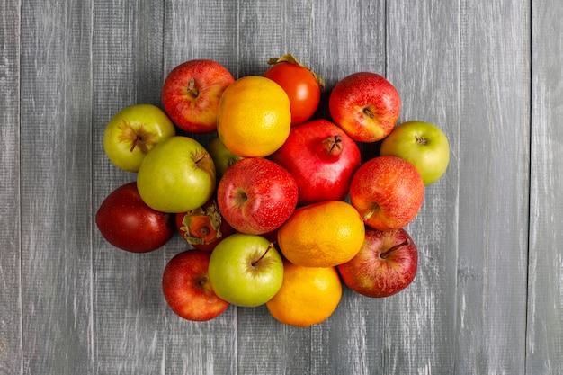 Fruits d'automne bio.